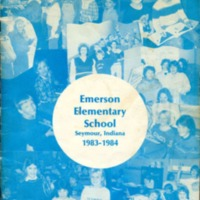 Emerson Elementary Yearbook 1983-1984