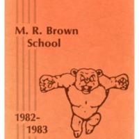 M. R. Brown School 1982-1983