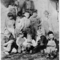 Hound Holler School, 1933-1934, Student Picture