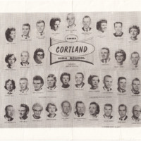 Cortland High School 1961 graduating class