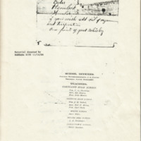 Recipes added to Cortland High School graduation documents