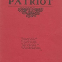 Shields High School Yearbook 1906