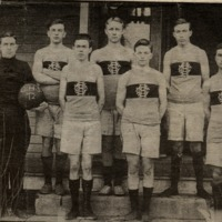 Crothersville High School Basketball Team 1912