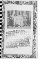 The Official Board, Vallonia Methodist Church Messenger of 1950,  - from Fort Vallonia Museum,  5.27x8.1 bw
