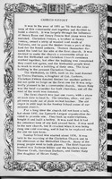 Church history , Vallonia Methodist Church Messenger of 1950. - from Fort Vallonia Museum,  5.2x8.36 bw