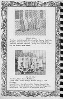 Classes 3 and 4,  Vallonia Methodist Church Messenger of 1950. - from Fort Vallonia Museum,  5.2x8.19 bw